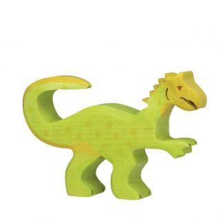 Dinosaurier Oviraptor aus Holz