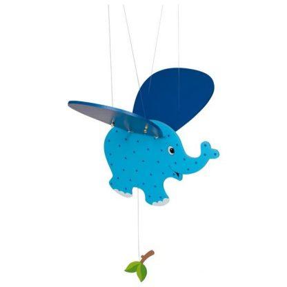 Schwingtier blauer Elefant