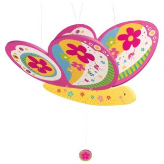 Schwingtier bunter Schmetterling