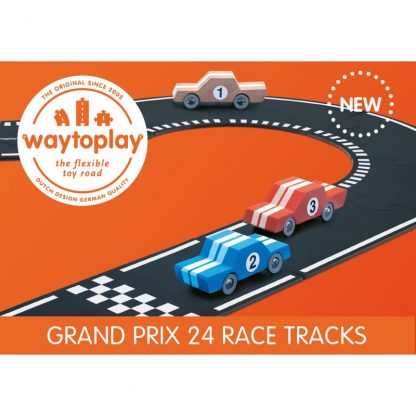 Way to Play Strassen-Set Grand Prix 24 Teile