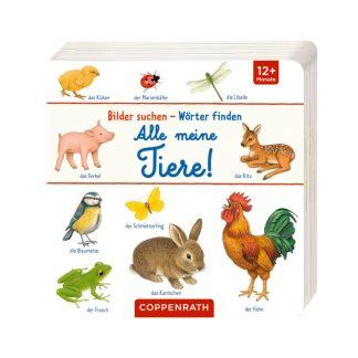 Pappbilderbuch mit Tieren