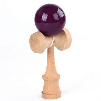 Kendama mit violetter Kugel