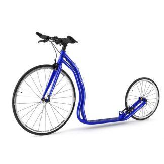 Yedoo Wolfer Tretroller Blau Aluminium