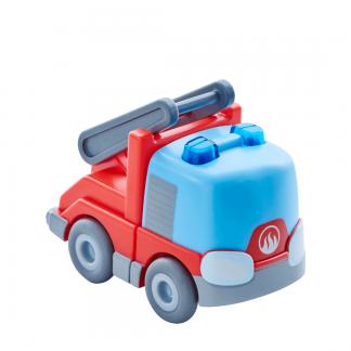 Kullerbü Feuerwehr-Leiterwagen mit Schwungmotor