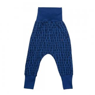 Hapilu Hose mit Seitentaschen dunkelblau Giraffe 80-100