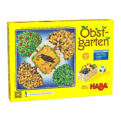 Obstgarten Farbwürfelspiel