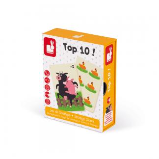 Kartenspiel Top 10! Rechen- und Strategiespiel