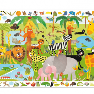 Puzzle 35 Teile Dschungel