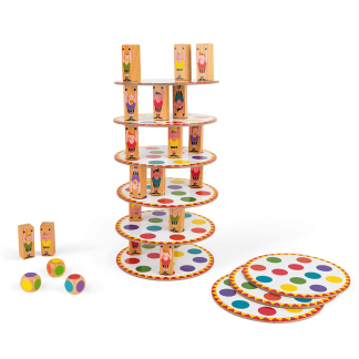 Wackelturm Acrobat Geschicklichkeitsspiel Turm