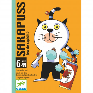 Cover Kartenspiel Sakapuss Katze