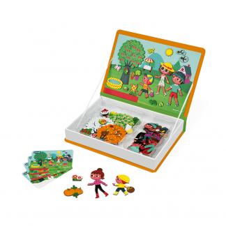 Magnetbuch Jahreszeiten Janod Puzzle