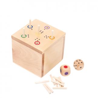 Würfelspiel 6 in die Box