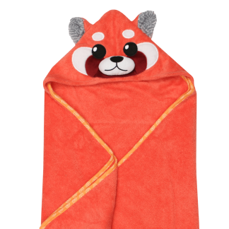 Baby Kapuzenbadetuch Remi der Rote Panda Zoocchini