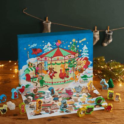 Haba Mein erster Adventskalender Auf dem Weihnachtsmarkt