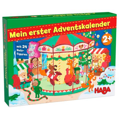 Haba Mein erster Adventskalender Weihnachtsmarkt