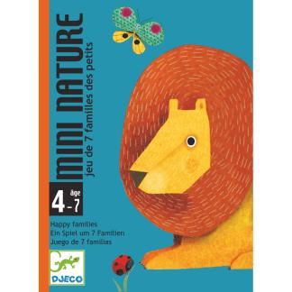 Kartenspiel Quartett Mini Nature Djeco