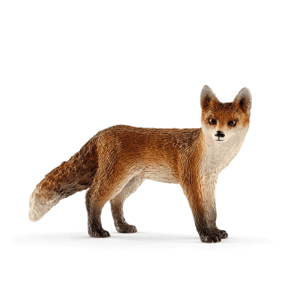 Schleich Fuchs Spielfigur Waldtiere Wild Life