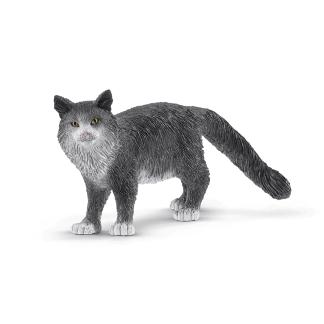 Schleich Maine Coon Katze Spielfigur Farm World