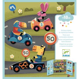 Stickermappe für Kleine Auto