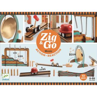 Zig Go Geschicklichkeit Baukasten Music 52 Teile Box